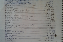 July 2013 Expenses $215