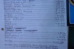November 2013 Expenses $113