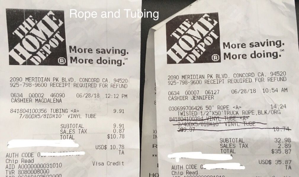 Frank Expense - Tubing and Rope