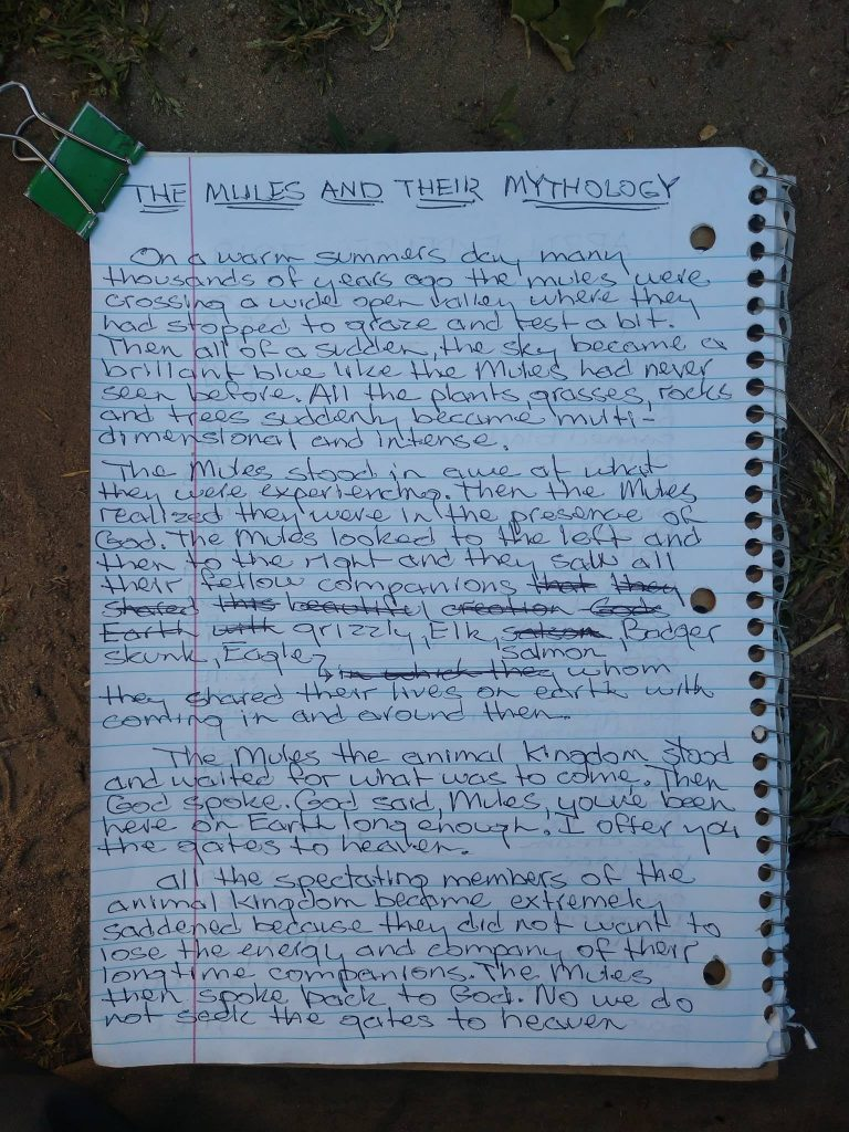The Mules and Their Mythology page 1